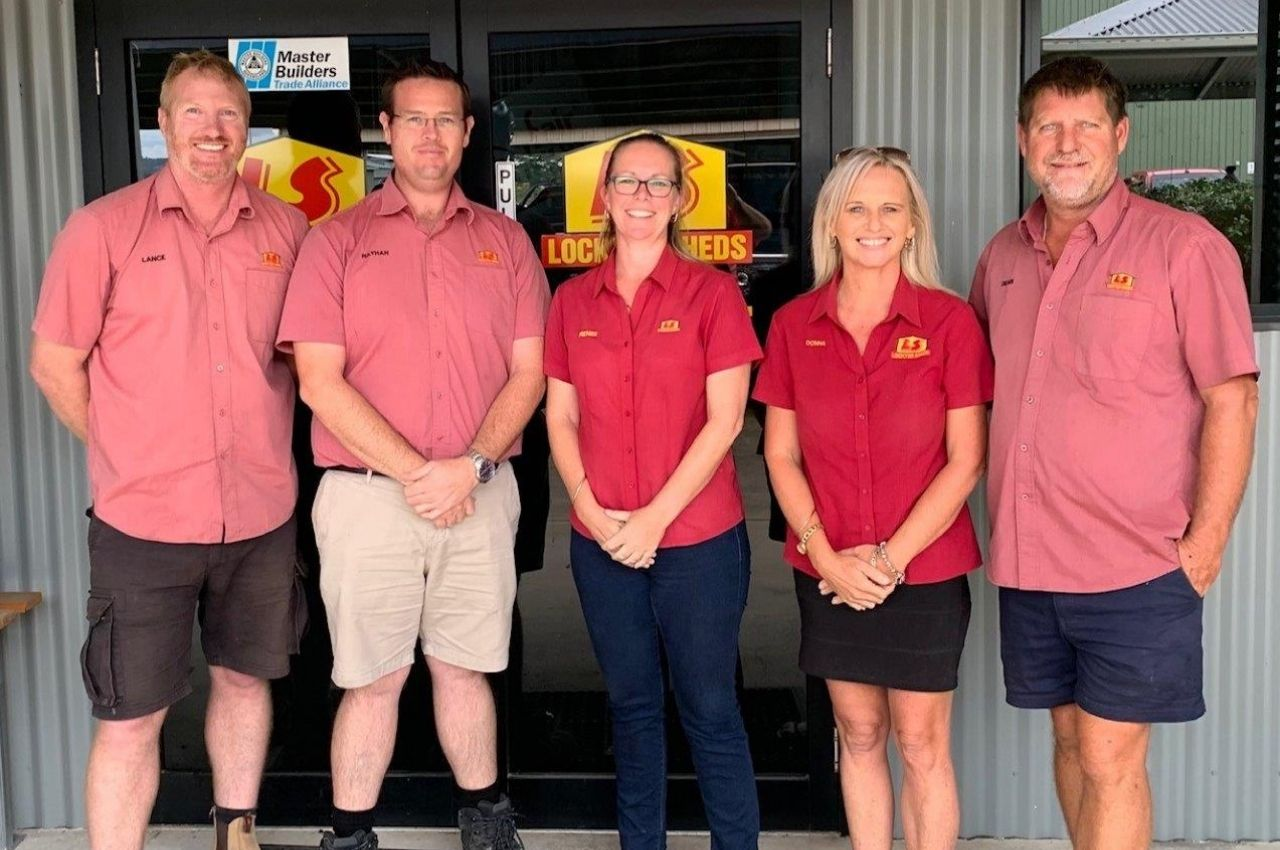 Lockyer Sheds Office Staff